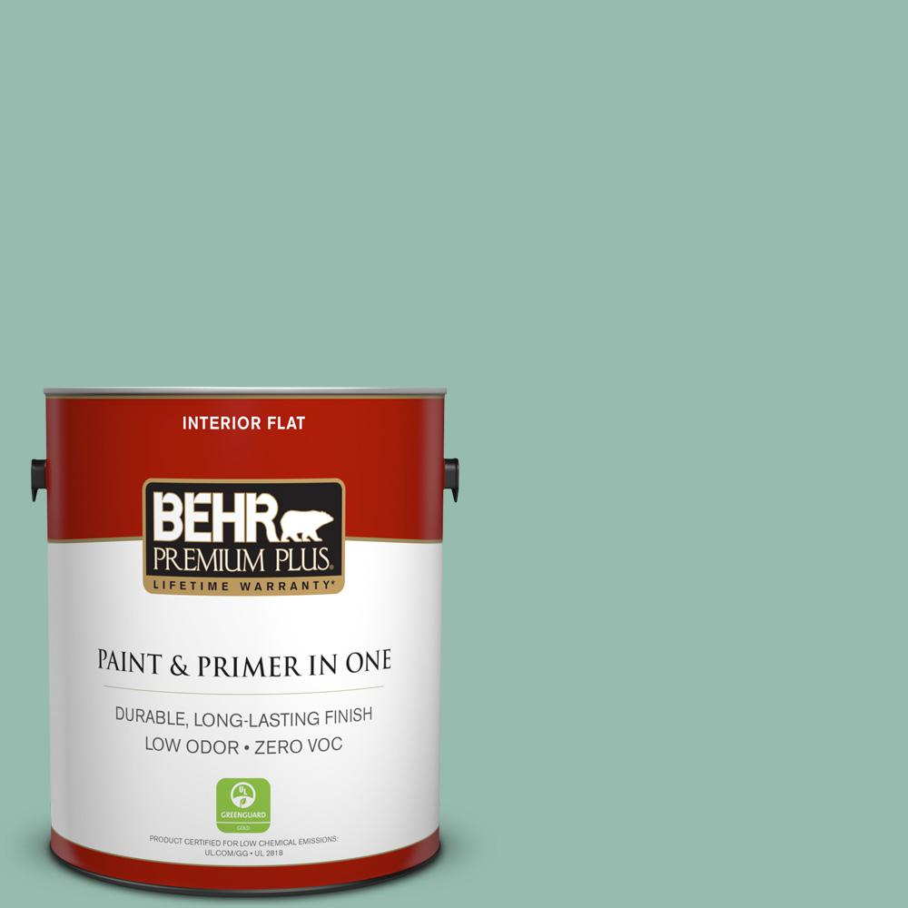 BEHR Premium Plus 1-gal. #M430-4 Sunstone Flat Interior Paint