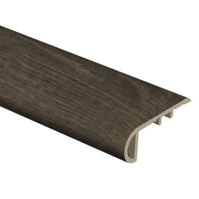 Choice Oak/Black Willow 1 in. Thick x 2-1/2 in. Wide x 94 in. Length Vinyl Stair Nose Molding