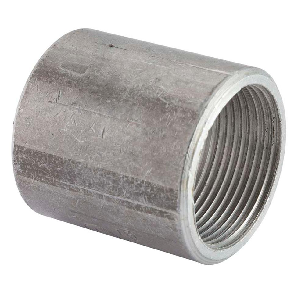1 2 Quot Threaded Steel Couplers : In rigid conduit coupling the home depot