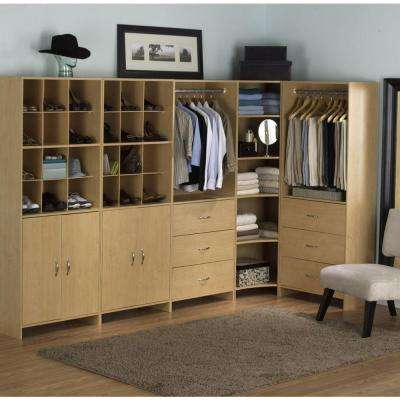 H 12 Compartment Closet Tower Organizer In