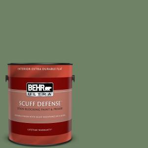 Behr Ultra 1 Gal Mq6 10 Echo Park Extra Durable Flat Interior Paint And Primer In One 172401 The Home Depot