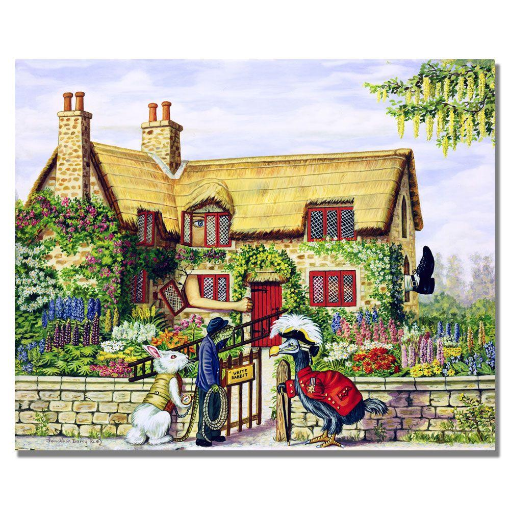 Trademark Fine Art 24 in. x 32 in. Pull her out of the Chimney Canvas Art-DISCONTINUED