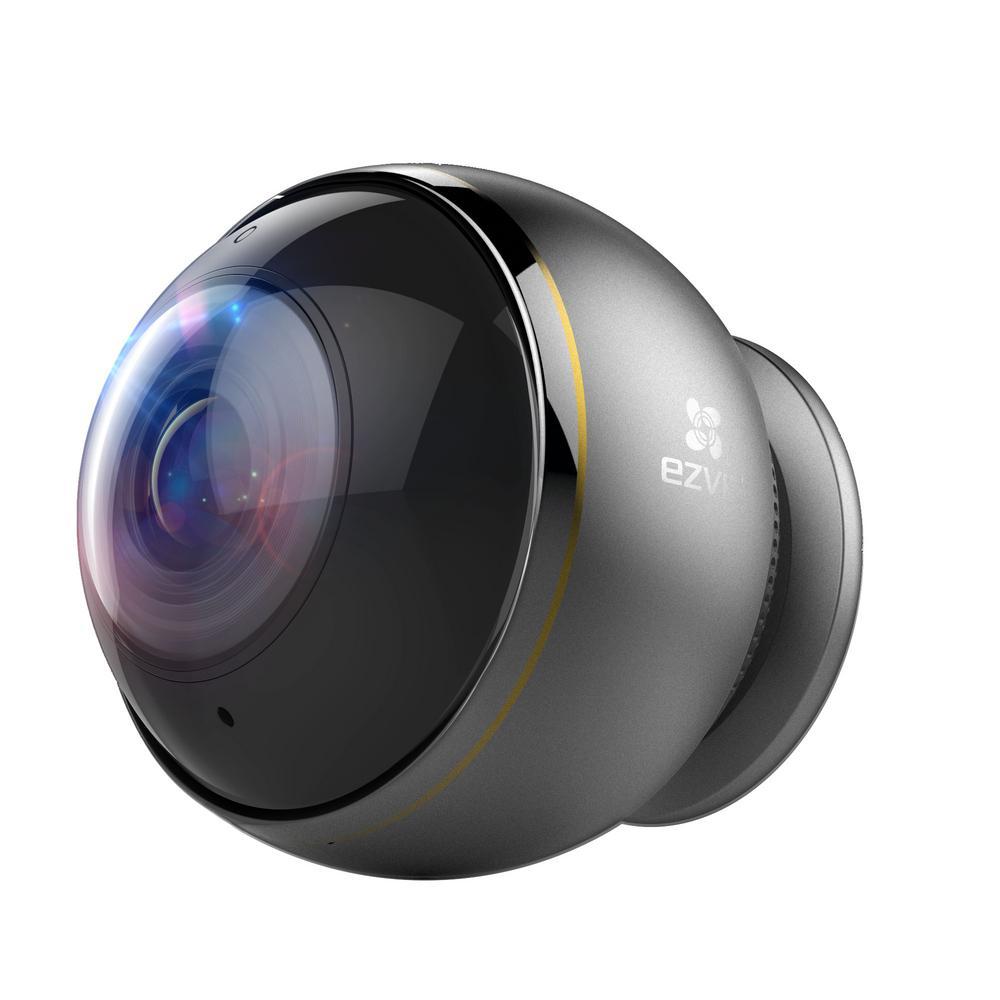 EZVIZ ez360 Pano 3MP Wireless Standard Security Camera 360 Panoramic View  Fisheye Lens 2-Way Audio