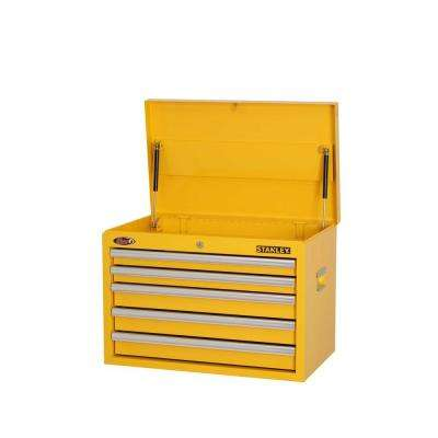 26 in. W 5-Drawer Tool Chest, Yellow