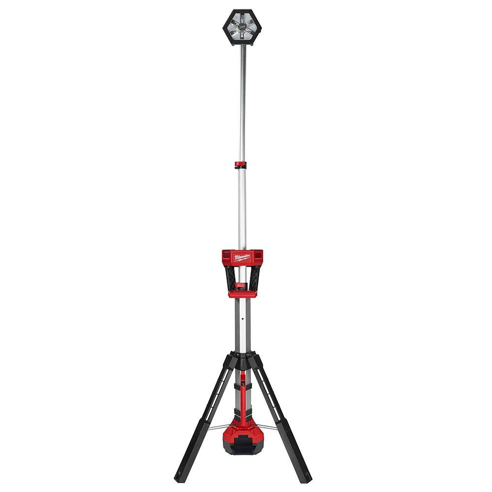 M18 18-Volt Lithium-Ion Cordless 2000-Lumen ROCKET LED Stand Work Light