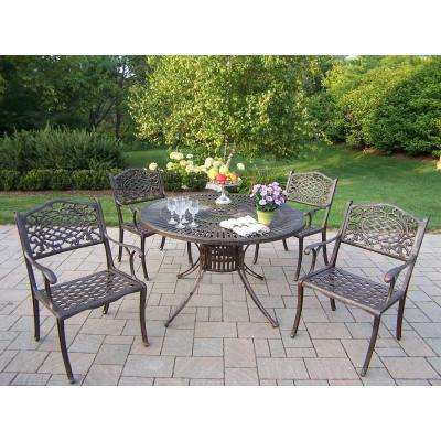 Sunray Patio 5-Piece Dining Set