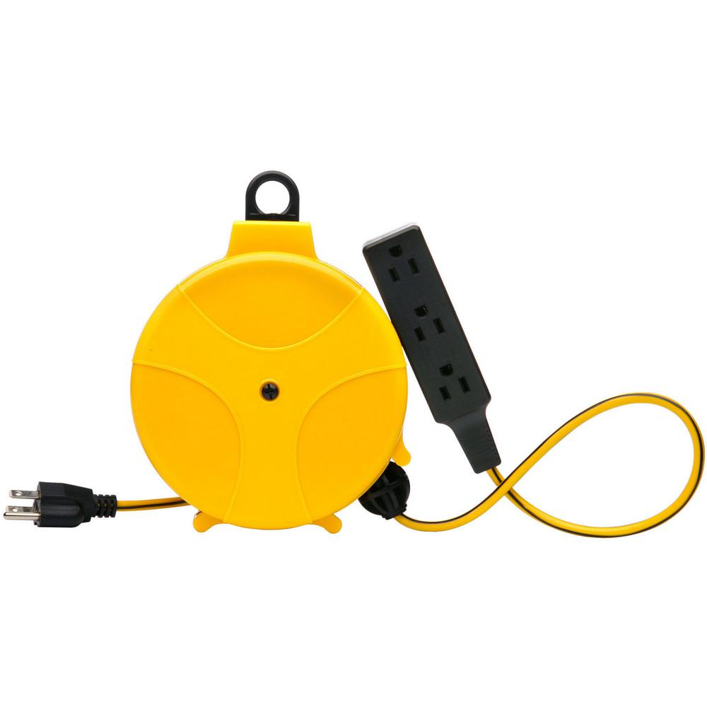 Southwire 20 Ft Retractable Cord Reel E315 The Home Depot