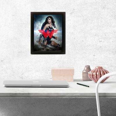 Batman v Superman - Dawn of Justice - Wonder Woman Logo Wall Art
