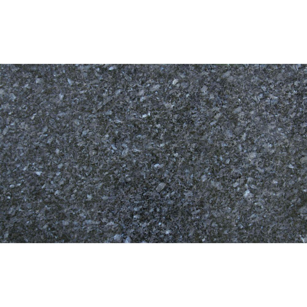 ms blue pearl 18 in x 31 in polished granite floor and wall