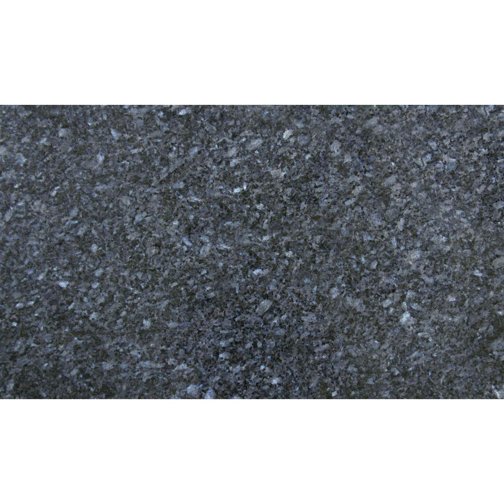 Polished granite floor tiles