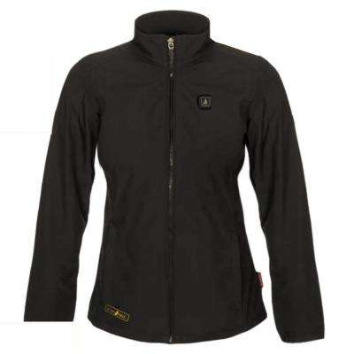 Women's Large Black Softshell 5-Volt Heated Jacket