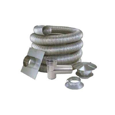 6 in. x 25 ft. All Fuel Stainless Steel Kit