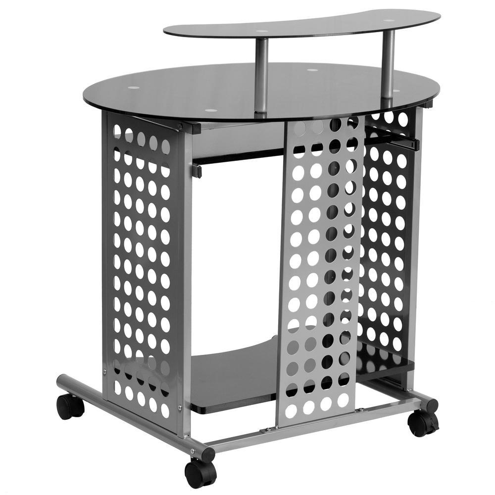 Flash Furniture Black Computer Desk CGA-NAN-9480-BL-HD