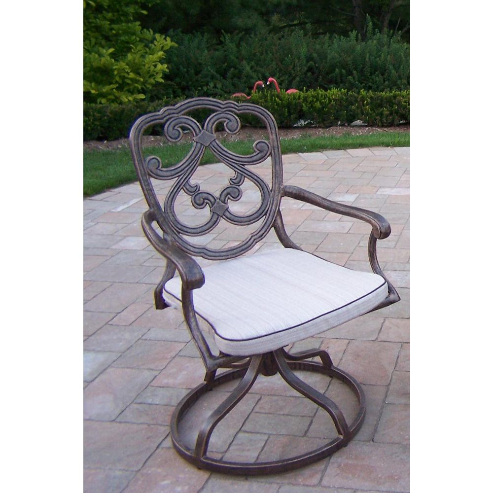 Pacifica Aluminum Outdoor Dining Chair with Beige Cushion  sc 1 st  The Home Depot & Pacifica Aluminum Outdoor Dining Chair with Beige Cushion-HD2204-AB ...