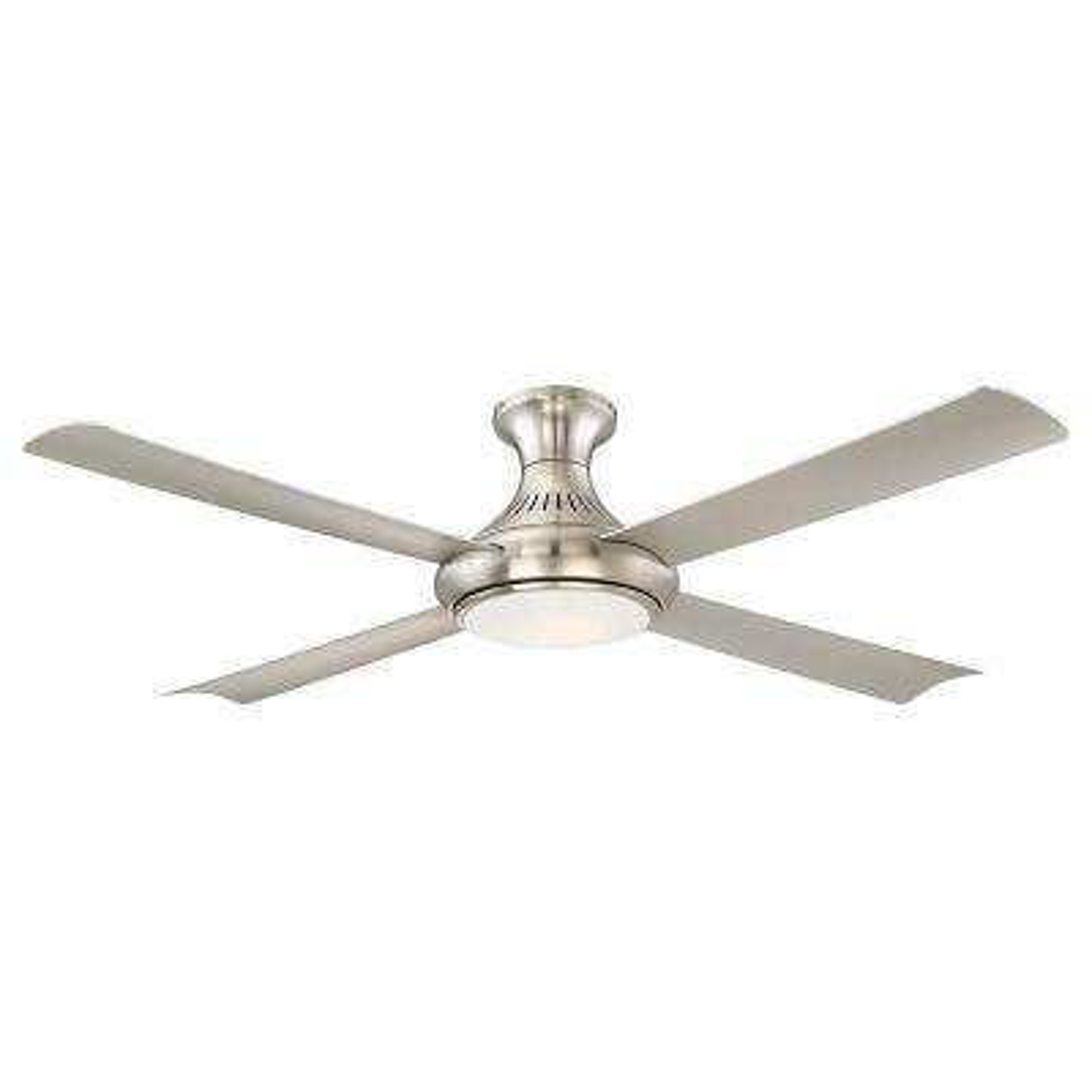 Waywood 56 in. LED Indoor Brushed Nickel Ceiling Fan