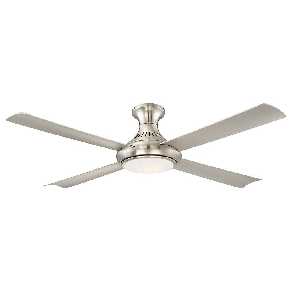 Aire a Minka Group Design Waywood 56 in. LED Indoor Brushed Nickel Ceiling Fan  sc 1 st  Home Depot & Aire a Minka Group Design Waywood 56 in. LED Indoor Brushed Nickel ...