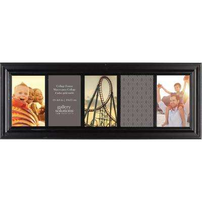 5-Opening 4 in. x 6 in. Picture Frame