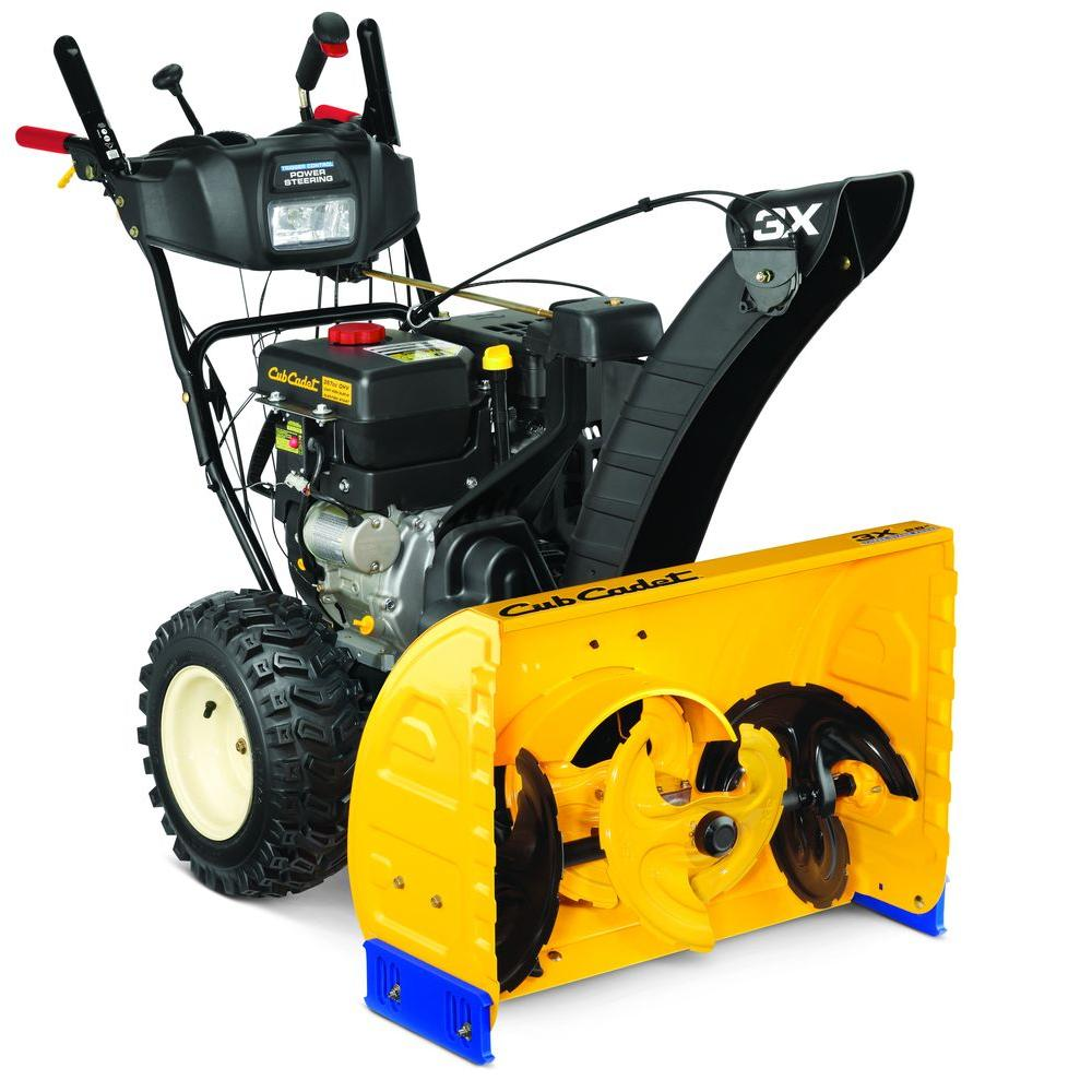 cub cadet gas snow blowers 3x 28 64_1000 cub cadet 3x 28 in 357cc 3 stage electric start gas snow blower  at mifinder.co