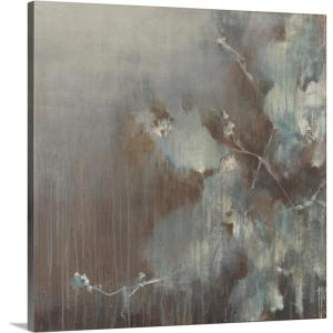 """""""Flowers in the Morning Fog"""" by Terri Burris Canvas Wall Art"""