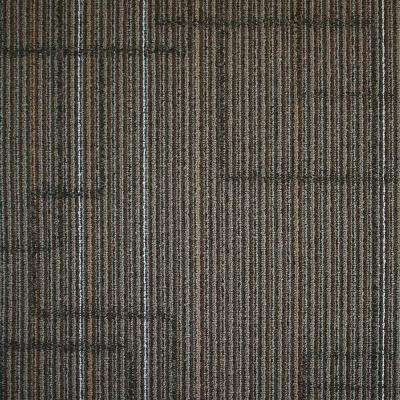Ellis Graphite Loop 19.7 in. x 19.7 in. Carpet Tile (20 Tiles/Case)
