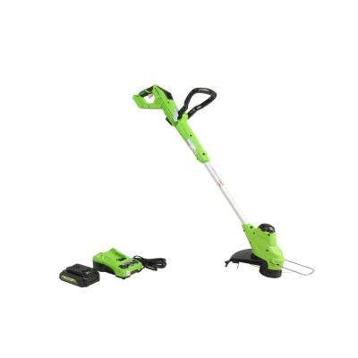 24-Volt 12 in. TORQDRIVE String Trimmer, 2Ah USB Battery and Charger Included ST24B212