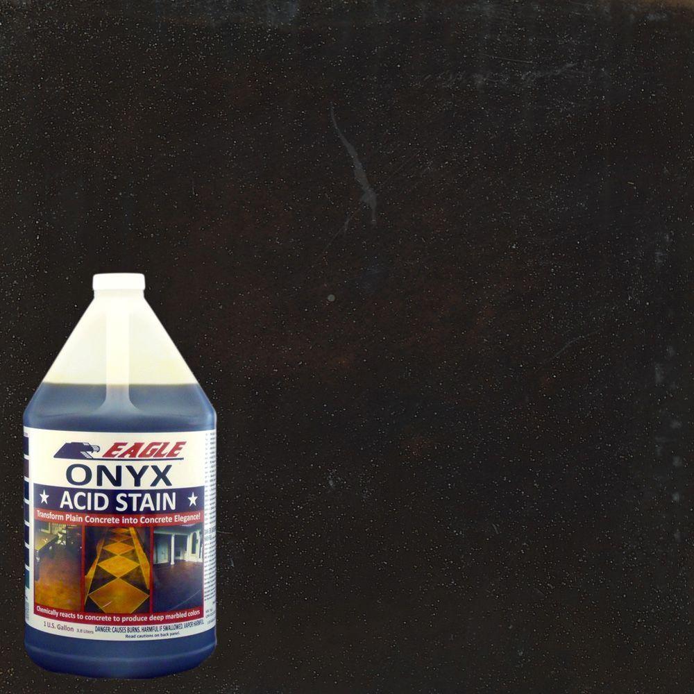 Eagle 1 Gal Onyx Interior Exterior Acid Stain Edado The