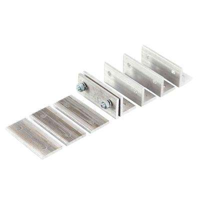Aluminum Hurricane Brackets for 6 in. and 8 in. Endura-Aluminum Wellington Empire and 8 in. Acadian Columns (Set of 20)
