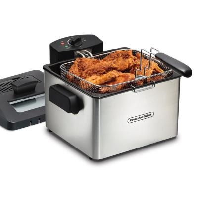 5.2 Qt. Stainless Steel Professional-Style Deep Fryer