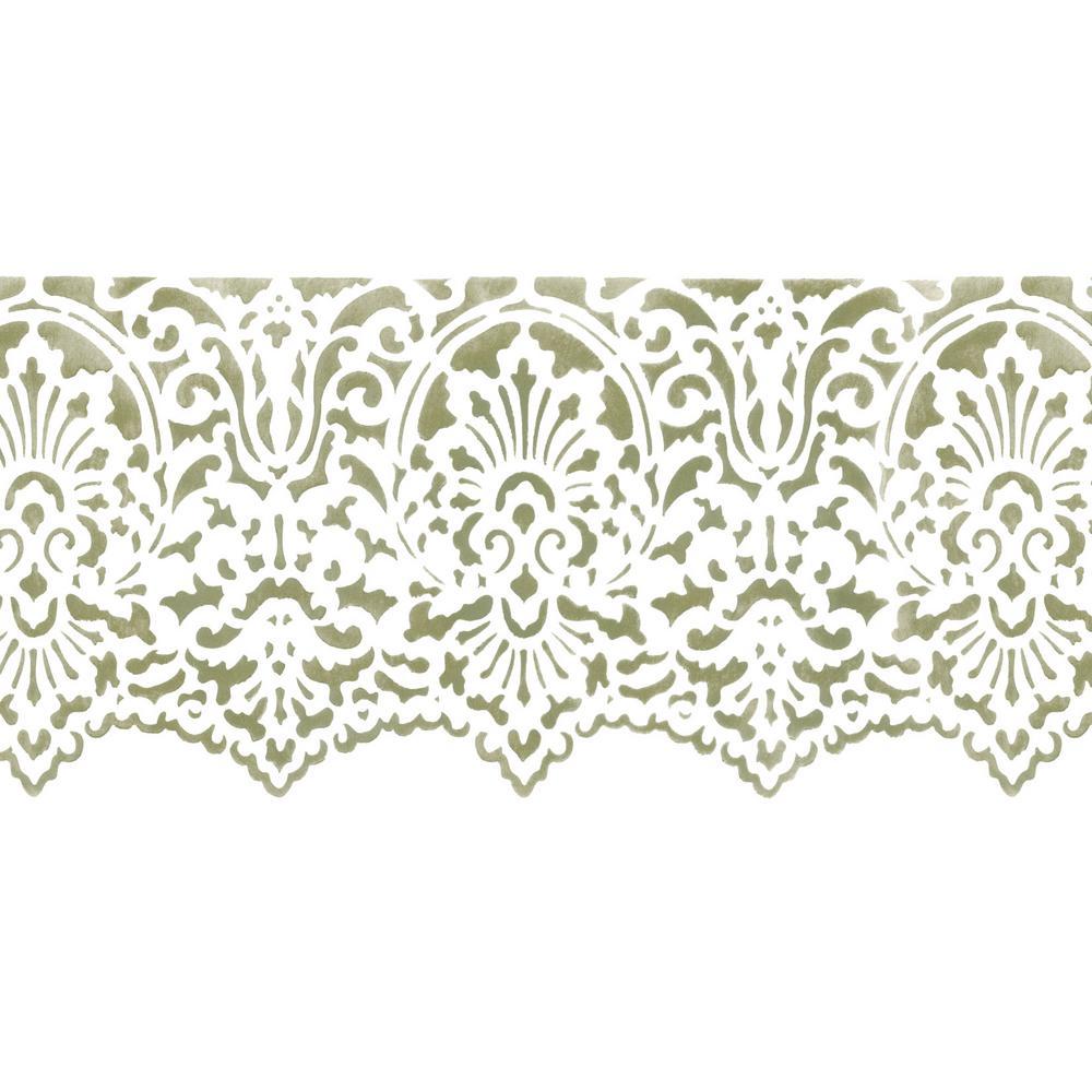 Designer Stencils Victorian Lace Wall Stencil Border 3405 The