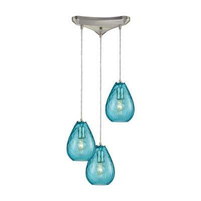 turquoise lighting turquoise kitchen lagoon teal pendant lights lighting the home depot