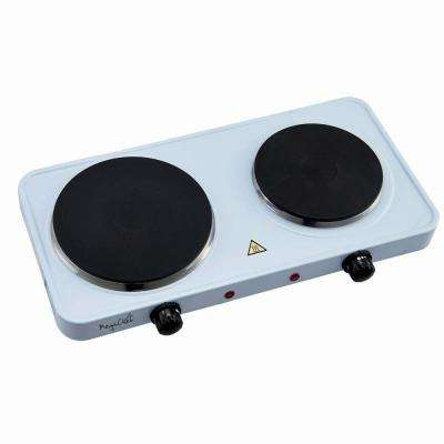 Portable Electric Dual Burner Cook-Top