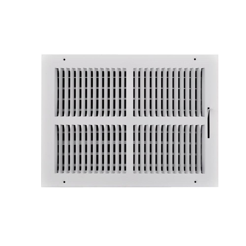 High Resolution Quality Ceiling Fans 2 Home Depot Ceiling: TruAire 14 In. X 10 In. 2-Way Wall Or Ceiling Register