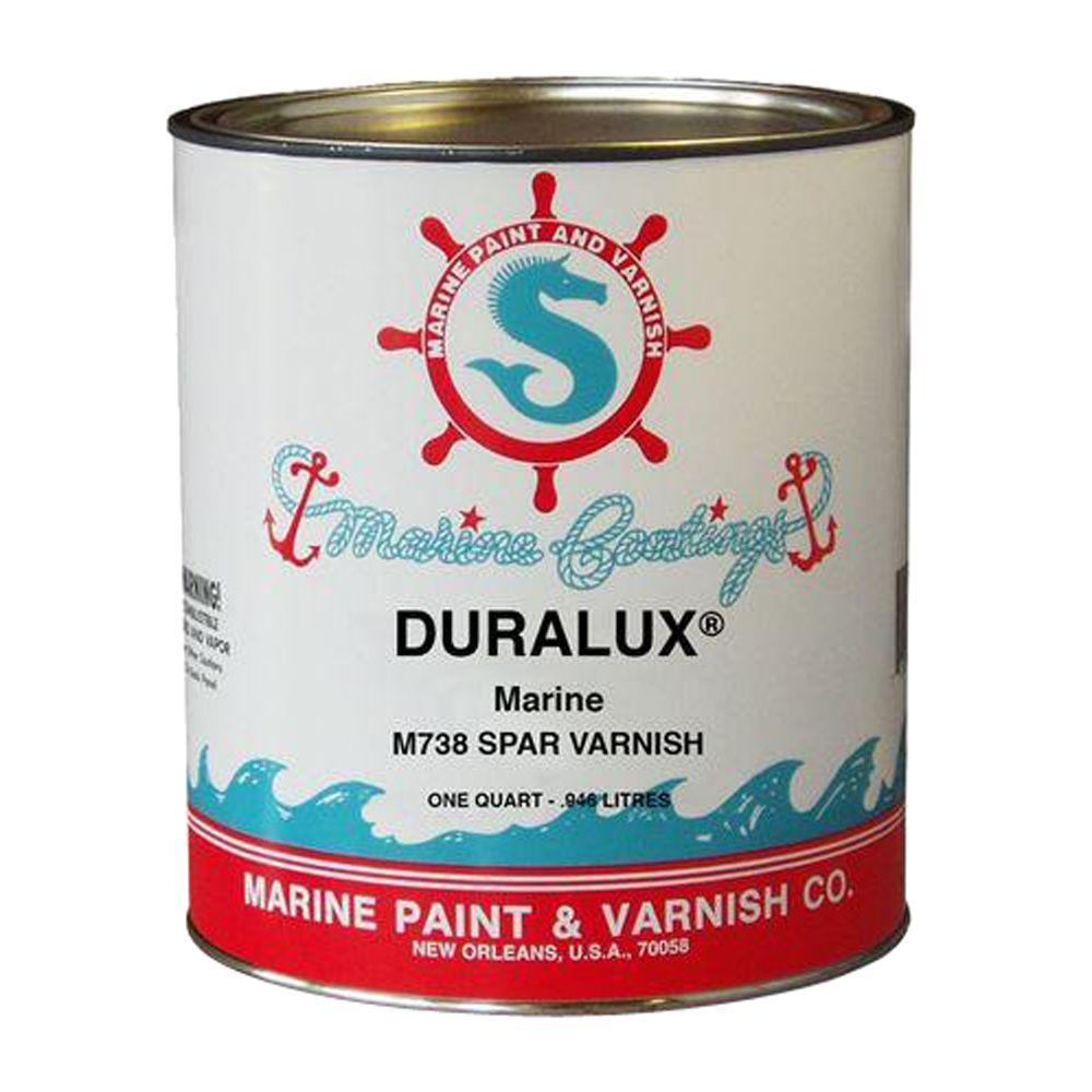 Duralux Marine Paint 1 qt  Clear Spar Varnish
