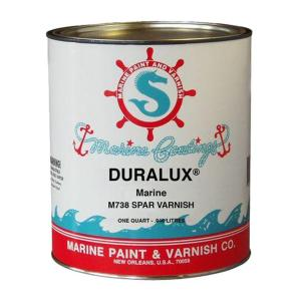 Duralux Marine Paint 1 Qt Clear Spar Varnish M738 4 The