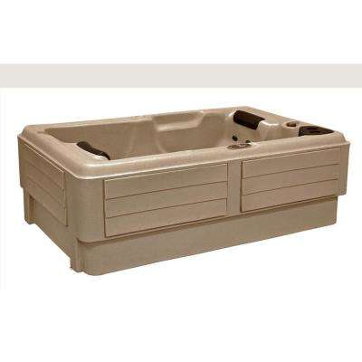2-Person 10-Jet Plug and Play Hot Tub