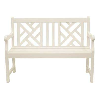 Prime Atlantic 48In White Wood Outdoor Bench Andrewgaddart Wooden Chair Designs For Living Room Andrewgaddartcom