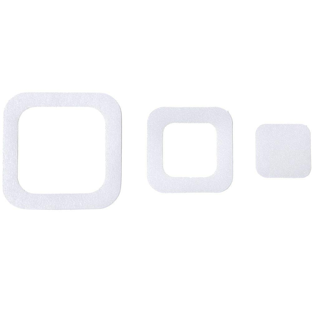 Adhesive Square Treads in Clear (21-Count)