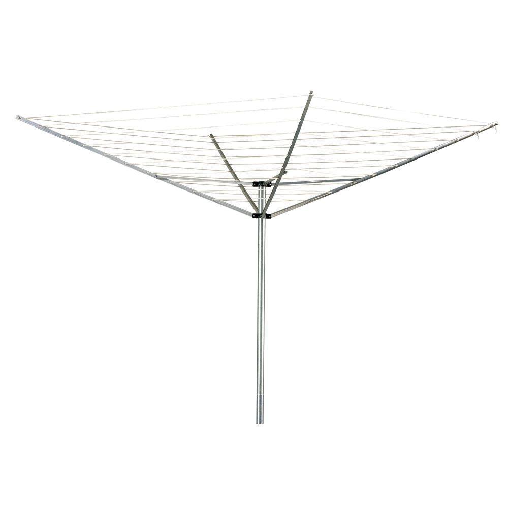 12-Line 165 ft. Drying Space Aluminum Umbrella Dryer (2-Piece)