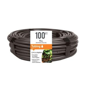 1/4 in. x 100 ft. Dripline with 9 in. Spacing and 0.5 GPH