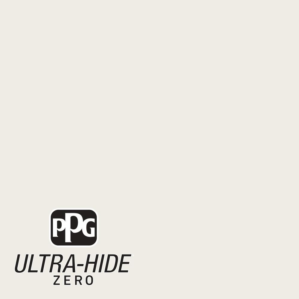 PPG 5 gal. #HDPCN03U Ultra-Hide Zero Wedding White Eggshell Interior Paint