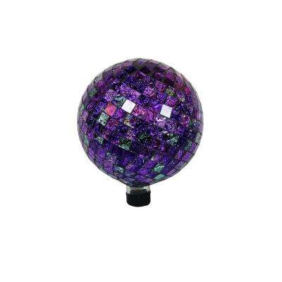 10 in. Shinning Purple Gazing Globe