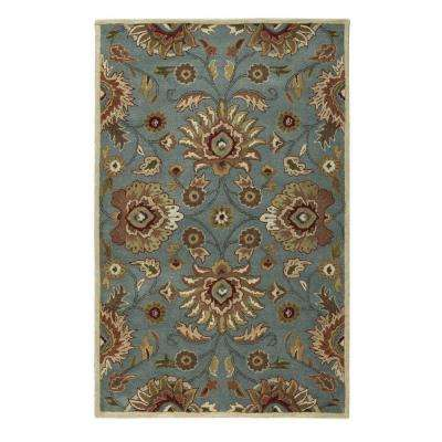 Echelon Blue 9 ft. x 12 ft. Area Rug