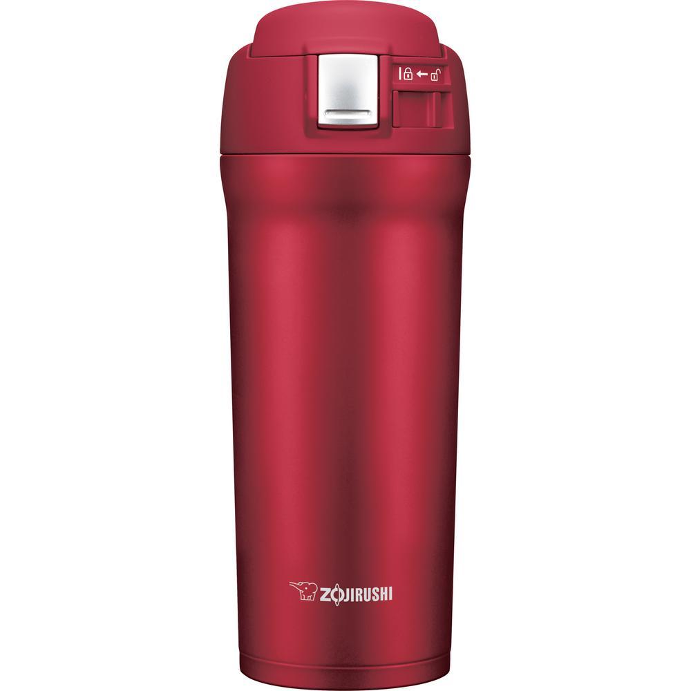 Zojirushi Vacuum Insulated 16 oz. Cherry Red Travel Mug SM-YAE48RA