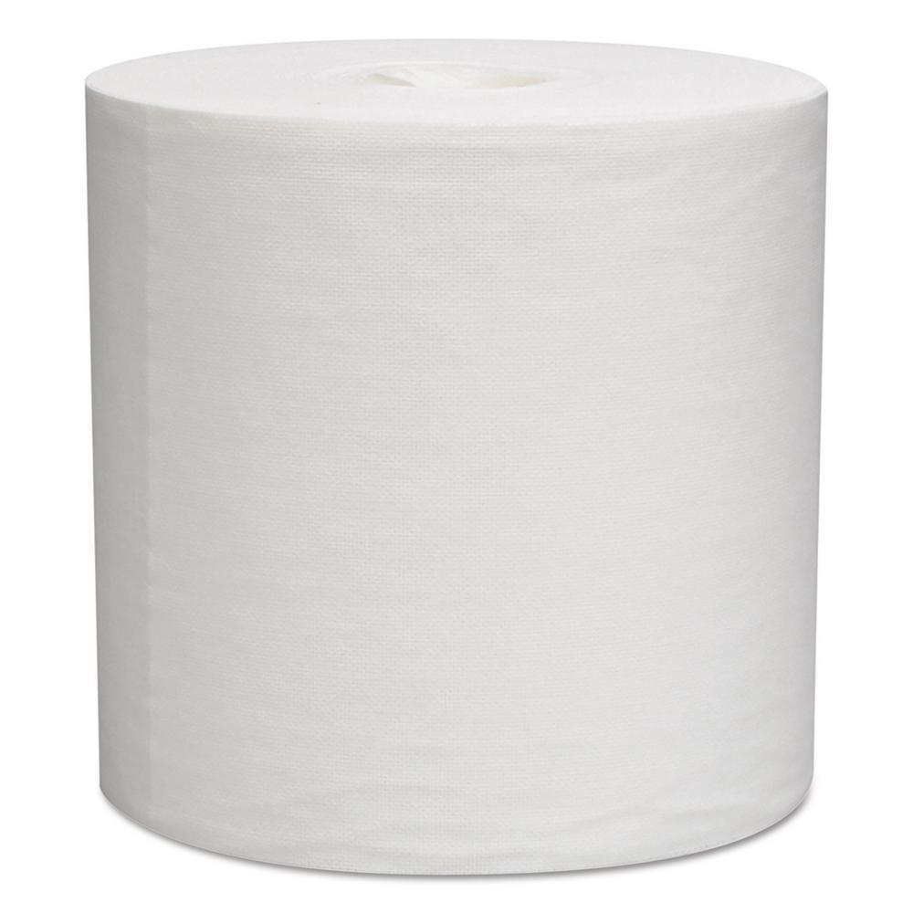 9 4/5 x 15 1/5 L30 Wipers, Center-Pull Roll, White, 300/Roll, 2 Rolls Per Carton