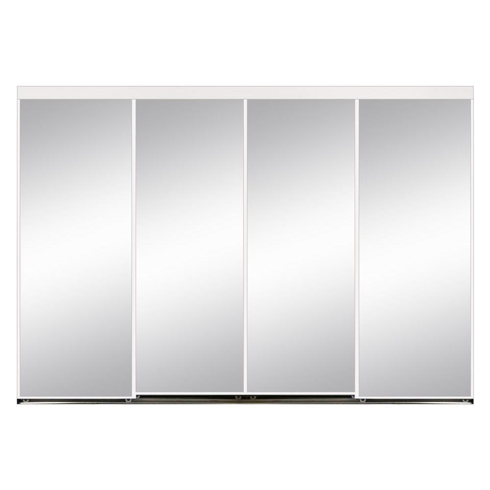 144 X 84 4 Panel Sliding Doors Interior Closet Doors The