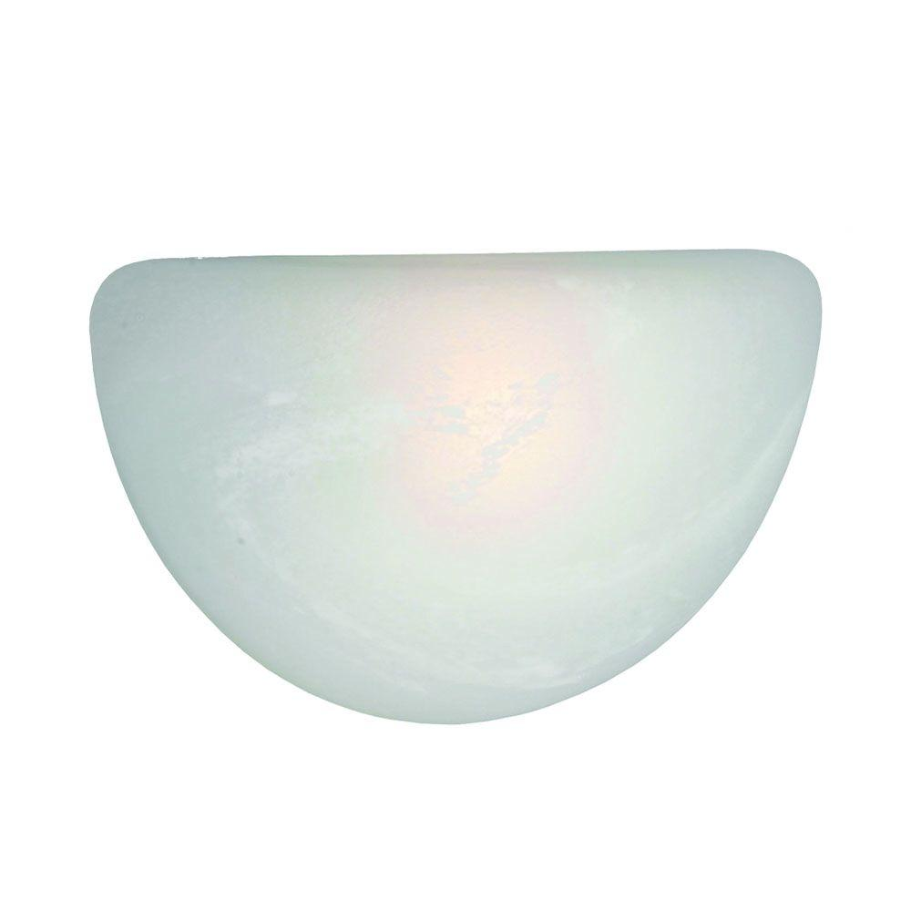 null Maddox Collection 1-Light Marbled Glass Sconce