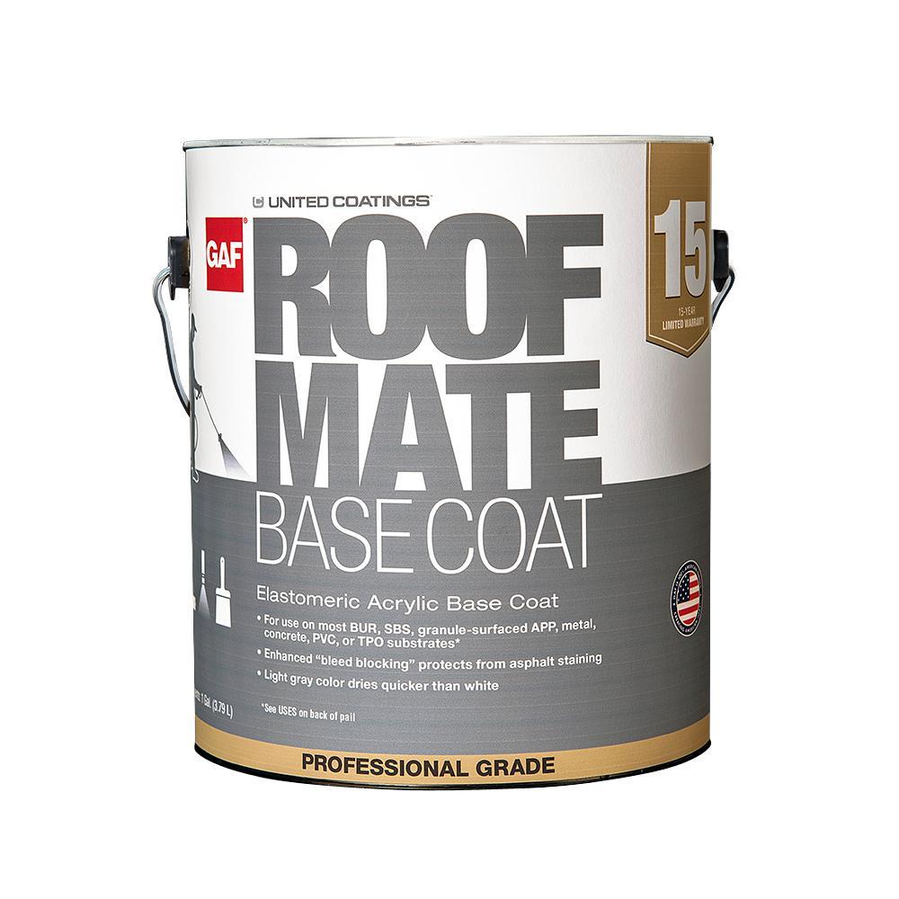1 Gal. Light Gray Reflective Roof Coating Mate Base Coat primer