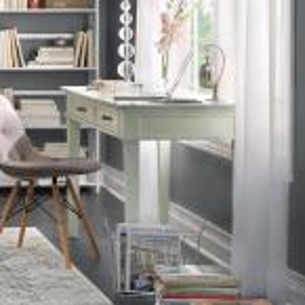 Home Decorators Collection Martin Ivory Desk