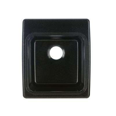 17-1/4 in. x 20 in. x 10-1/2 in. Solid Surface Utility Sink