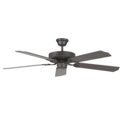 Homestead 52 in. Oil Rubbed Bronze Ceiling Fan with 5 Blades